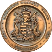 Medal - Centenary of the Auckland Harbour Board – obverse