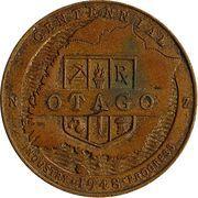 Medal - Otago Centennial – obverse