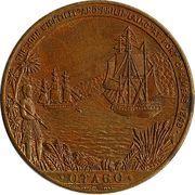 Medal - Otago Centennial – reverse
