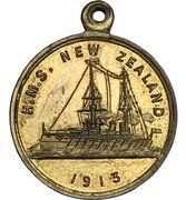 Medal - HMS New Zealand – obverse