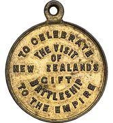 Medal - HMS New Zealand – reverse