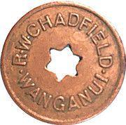 Token - 1 Pint Milk - R.W. Chadfield Wanganui – obverse