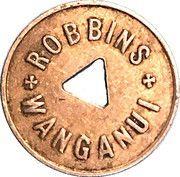 Token - Milk - Robbins Wanganui (1 Pint) – obverse