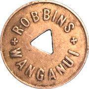 Token - Milk - Robbins Wanganui (1 Pint) – reverse