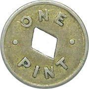 Token - 1 Pint Milk - Zone 15 (Lower Hutt) – reverse
