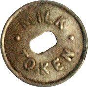 Token - Milk - Zone 108 (West Coast, Wellington) – reverse