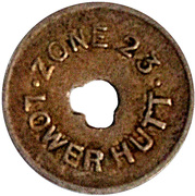 Token - 1 Pint Milk - Zone 23 (Lower Hutt) – obverse