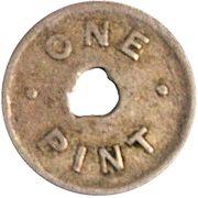 Token - 1 Pint Milk - Zone 23 (Lower Hutt) – reverse