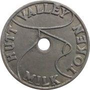 Token - 1 Pint Milk - Hutt Valley – obverse