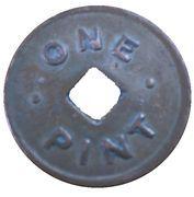 Token - 1 Pint Milk - Zone 49 (Dunedin) – reverse