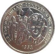 Medal - Millennium Collection - Edmund Hillary – obverse