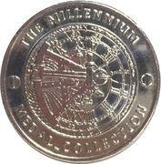 Medal - Millennium Collection - Edmund Hillary – reverse