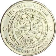 Medal - Millennium Collection - Exploration – reverse