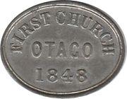 Token - First Communion - First Church Otago – reverse