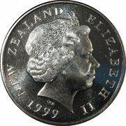 50 Cents - Elizabeth II (4th portrait; non-magnetic) -  obverse