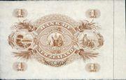 1 Pound (Bank of New Zealand) -  reverse
