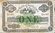 1 Pound (Bank of Australasia; 3 circles) – obverse