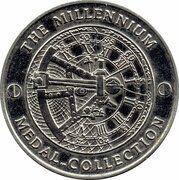 Medal - Millennium Collection - DNA – reverse