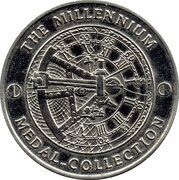 Medal - Millennium Collection - The Birth of Christ – reverse