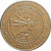 Medal - Millennium Collection - Charlie Chaplin – reverse