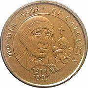 Medal - Millennium Collection - Mother Teresa – obverse