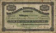 10 Shillings (National Bank of New Zealand Limited) – obverse