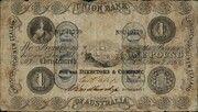 1 Pound - Victoria (Union Bank of Australia Ltd.) – obverse