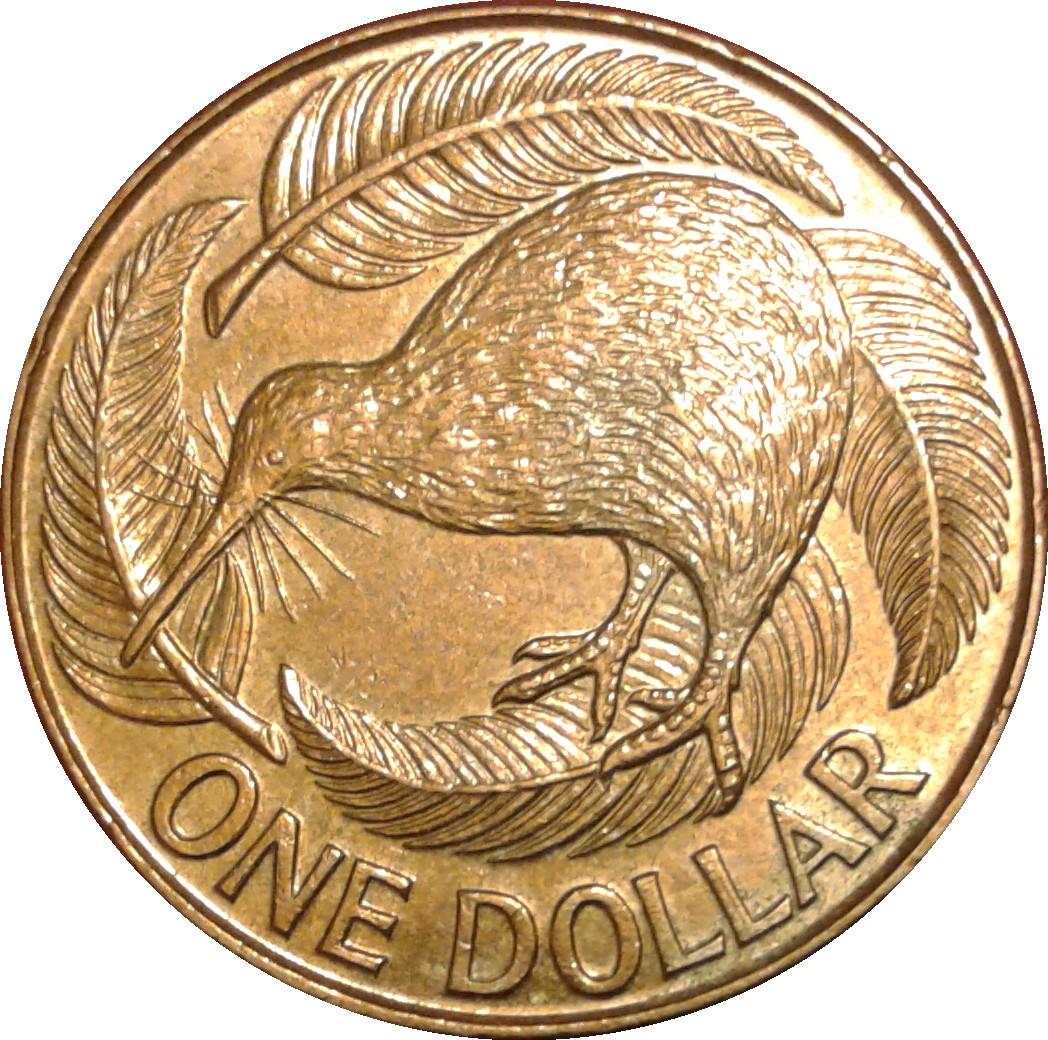 Dollar - Elizabeth II (3rd portrait) - New Zealand – Numista