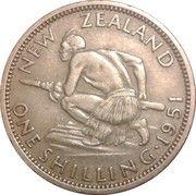 1 Shilling - George VI (3rd type) – reverse