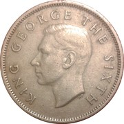 1 Florin - George VI (3rd type) – obverse
