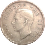 1 Shilling - George VI (3rd type) – obverse