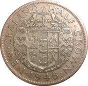 ½ Crown - George VI (3rd type) – reverse