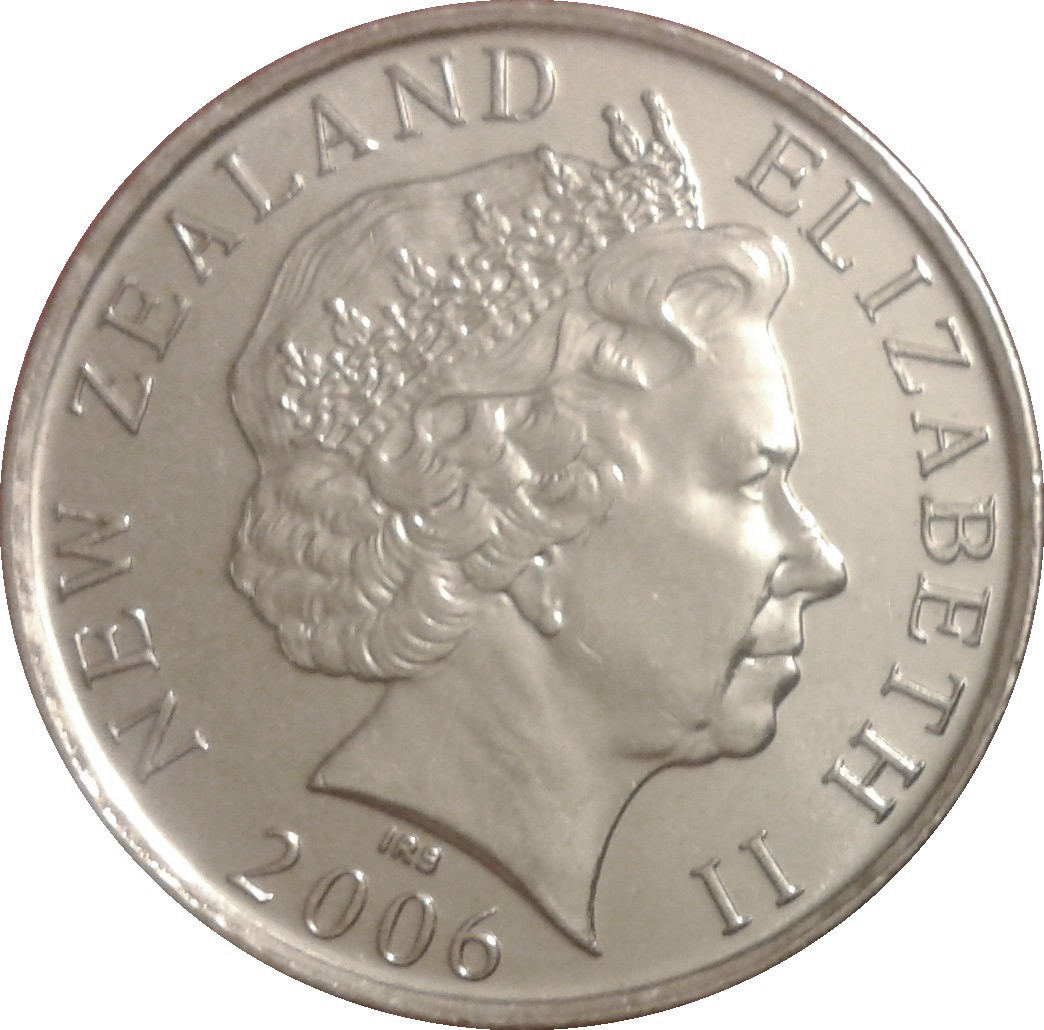 50 Cents Elizabeth Ii 4th Portrait New Zealand Numista