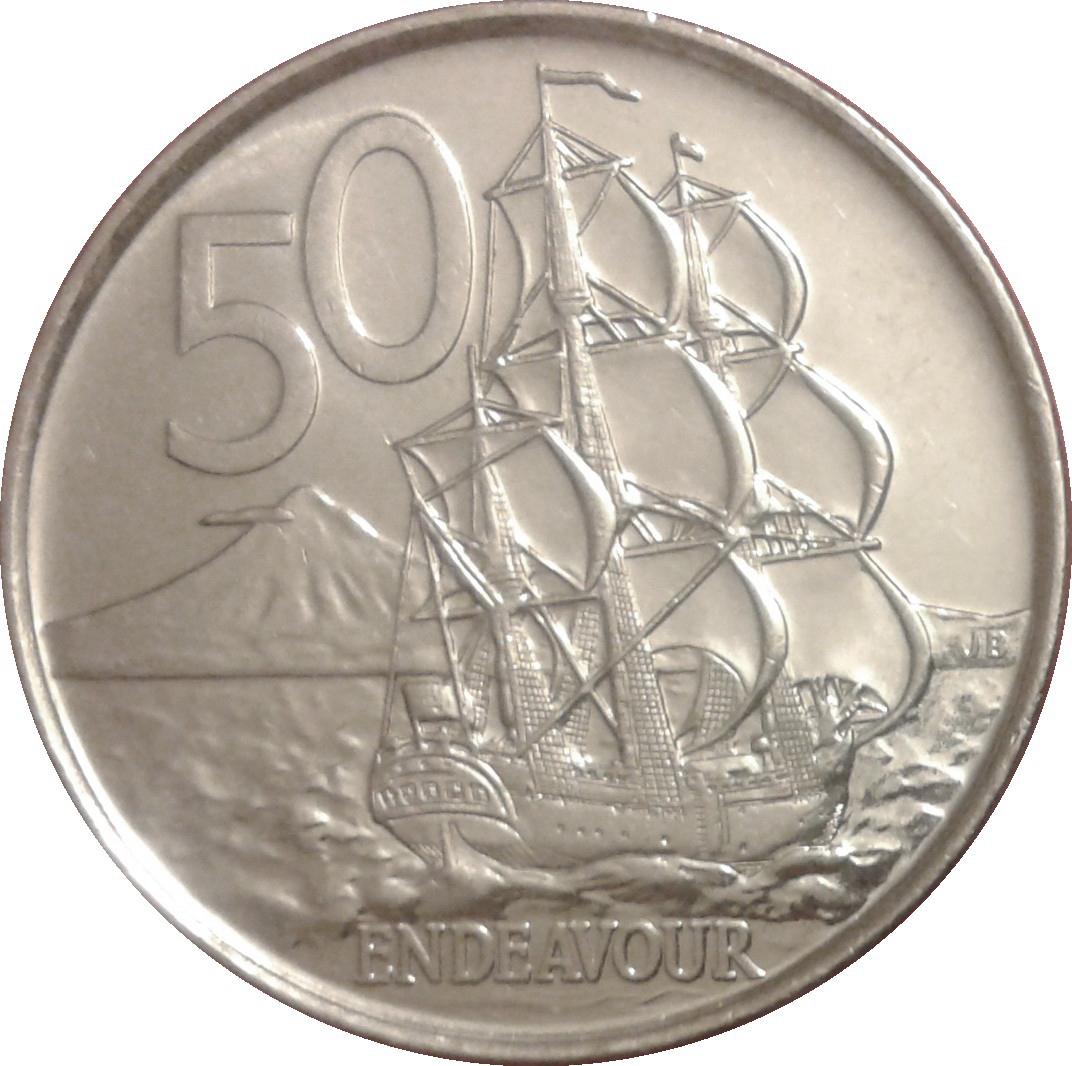 50 Cents Elizabeth Ii 4th Portrait