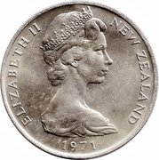 20 Cents - Elizabeth II (2nd portrait) -  obverse