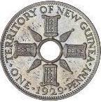 1 Penny - George V (Trial Strike) – reverse