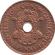 1 Penny - Edward VIII – reverse
