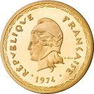 100 Francs (Piedfort Essai) – obverse