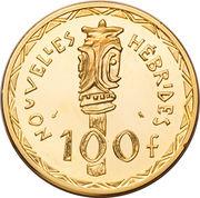 100 Francs (Piedfort Essai) – reverse