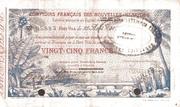 25 Francs -  obverse