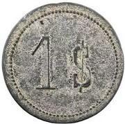 1 Shilling - Epi Island - Valesdir – reverse