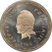 100 Francs (Piedfort) – obverse