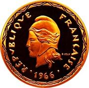 100 Francs (Piedfort gold) – obverse