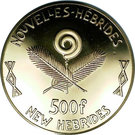 500 Francs (International year of the Child) – obverse