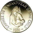 500 Francs (International year of the Child) – reverse