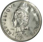 50 francs (IEOM essai) – obverse