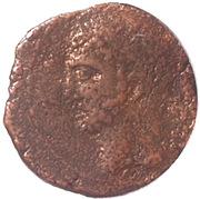 Semis - Syphax (Western Numidia; small beard, horseman left) – obverse