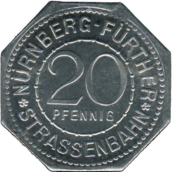 City of Cassel Notgeld 1920 Germany 20 pfennig Germany coin Notm\u00fcnze