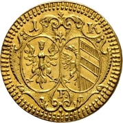 1 Kreuzer (Gold pattern strike) – obverse