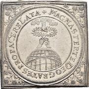 ½ Thaler (Klippe; Peace of Westphalia) – reverse